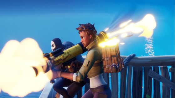 Fortnite: Rocket Launcher to shoot down helicopters has been leaked