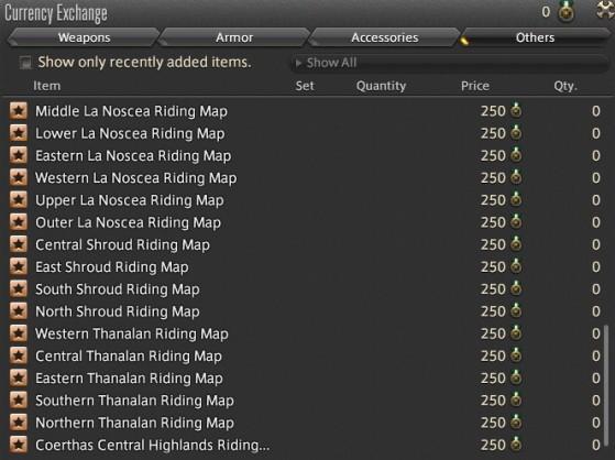 Riding Map FFXIV - Final Fantasy XIV