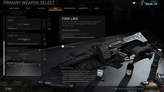 Modern Warfare and Warzone Season 5 Reloaded: How to unlock the FiNN LMG