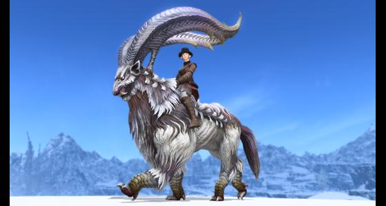 FFXIV 5.31 Megalotragus Mount - Final Fantasy XIV