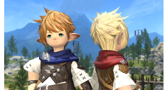 FFXIV 5.31 New Saintly Style from Hairstyle Design Contest - Final Fantasy XIV