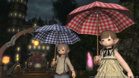 FFXIV 5.31 Parasols - Final Fantasy XIV