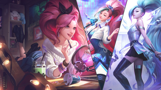 How does League of Legends' K/DA ALL OUT Seraphine Ultimate skin work?