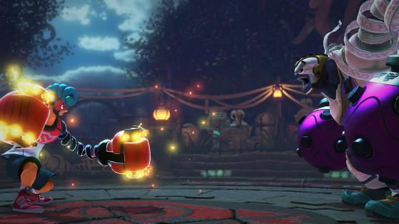 Arms in action. Image Source: Nintendo - Millenium