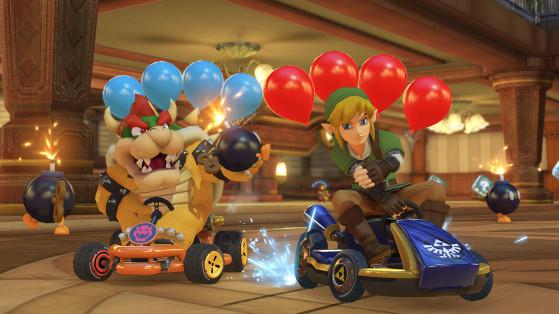 Link and Bowser in Battle Mode. Image Source: Nintendo - Millenium