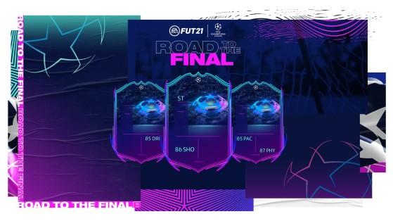 FUT 21: Road To The Final Team 2, RTTF