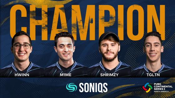 PUBG: Soniqs are your PCS3 North America champions!