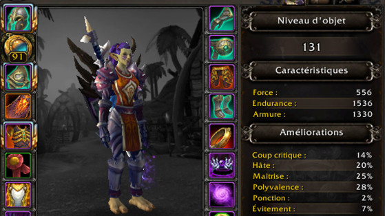 An I-level 476 item in Battle for Azeroth is now an I-Level 131 item in shadowlands! - World of Warcraft