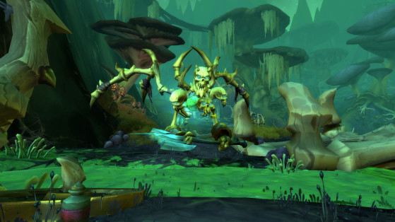 """The """"military heart of Shadowlands"""", but not a battleground in sight. - World of Warcraft"""