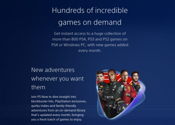 PS Now Info. Image Source: Sony - Millenium