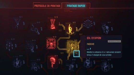 Intelligence skill tree - Cyberpunk 2077