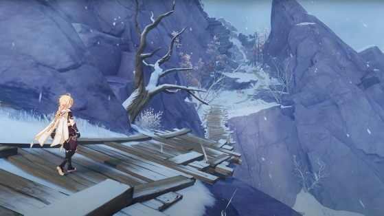 Where to find shards for the In the Mountains quest in Genshin Impact