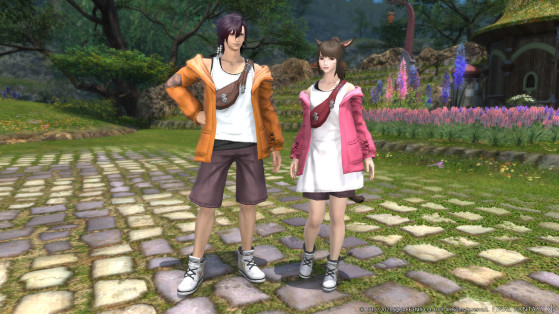 FFXIV Casual Outfit, coming with 5.41 - Final Fantasy XIV