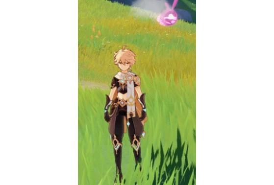 Mini Seelie: Rosé - Genshin Impact