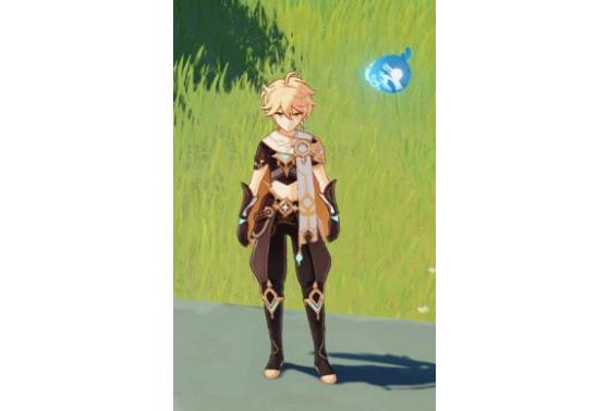 Mini Seelie: Dayflower - Genshin Impact