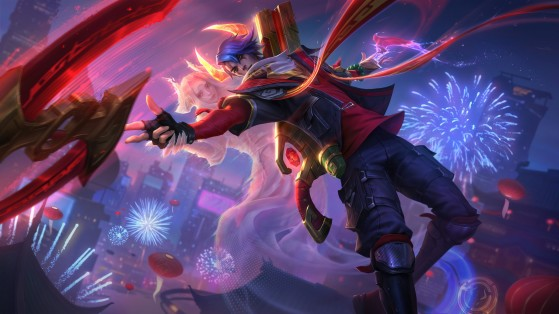League of Legends: New Lunar Beast skins for Annie and Aphelios