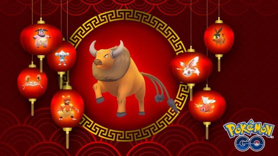 The Pokémon GO Lunar New Year 2021 event has started