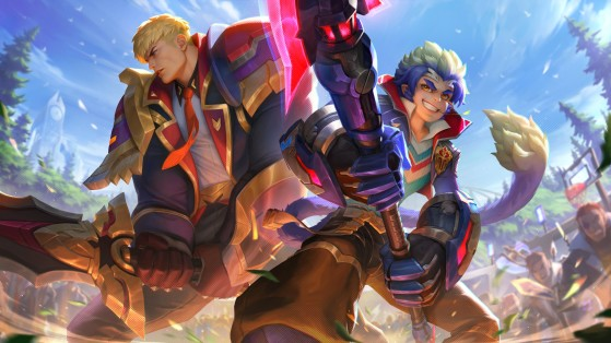 Battle Academia Garen & Wukong - League of Legends