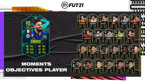 How to unlock Player Moments Giroud on FUT 21