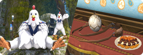 FFXIV Hatching-tide 2021 Rewards — Chicken Suit - Final Fantasy XIV