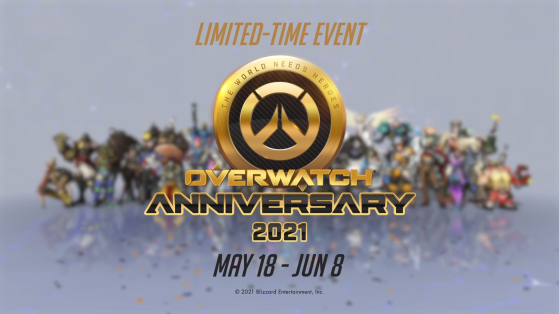Overwatch Anniversary 2021 is live, and here is all the content it brings with it