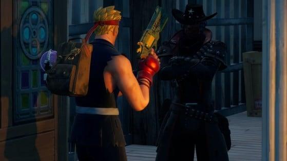 Fortnite Season 6 Challenge: Spend Gold Bars with Deadfire