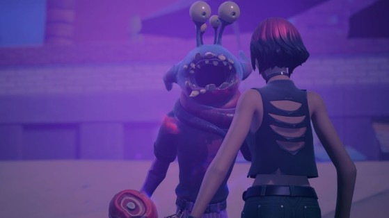 Fortnite Week 5 Challenge: Get infected by an Alien Parasite and talk to Sunny
