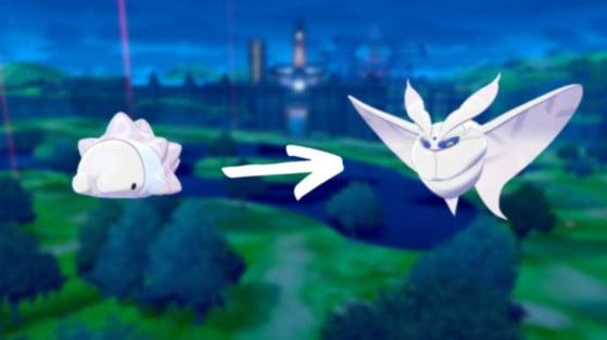 Pokemon Sword, Shield:  Snom evolution, Frosmoth