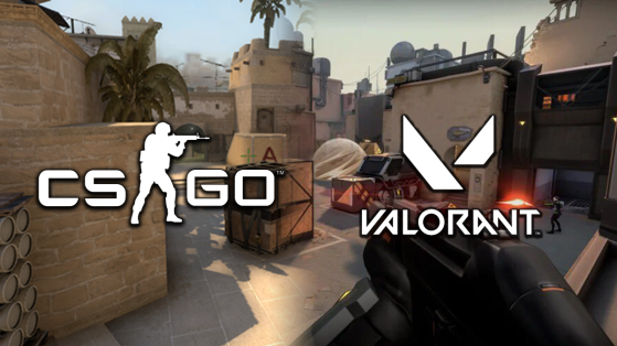 Valorant and CS:GO