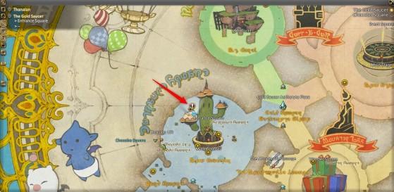 Lewena's Location - Final Fantasy XIV