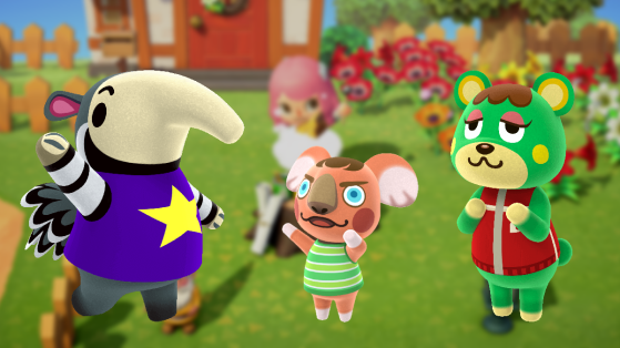 Animal Crossing New Horizons: all animals available at the start of the game