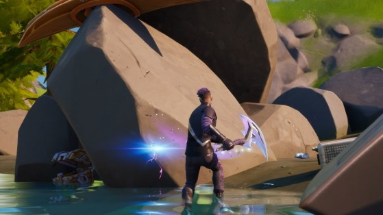 Fortnite Season 3 Week 7 Challenges: How to Collect Stone from Rapid's Rest