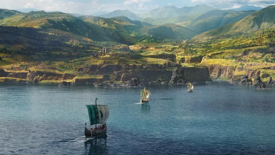 Le graphisme de Valhalla est très détaillé et spectaculaire pour les paysages.