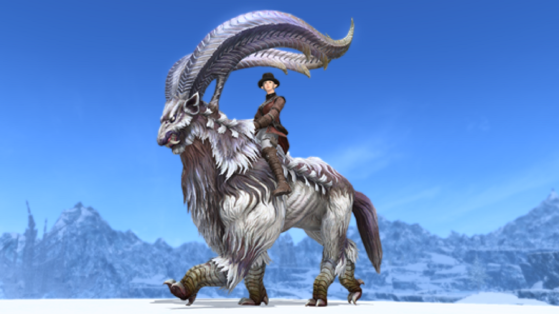 FFXIV 5.31 How to get the Megalotragus Mount Guide