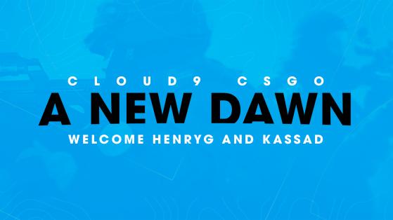 HenryG becomes Cloud9 General Manager