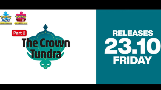 Pokémon Sword and Shield second dlc Crown Tundra release date announced