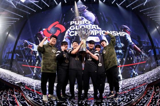 Gen.G edged out FaZe to win the PUBG Global Championship 2019. Photo: PUBG Corp - PUBG