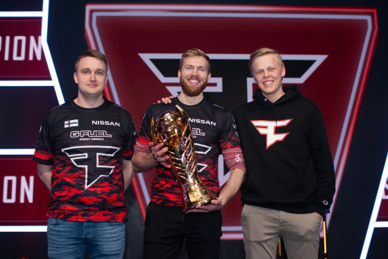 Silverware is nothing new for FaZe Clan and Fuzzface. The team won two of the three phases of the PUBG Europe League. Photo: PUBG Corp - PUBG