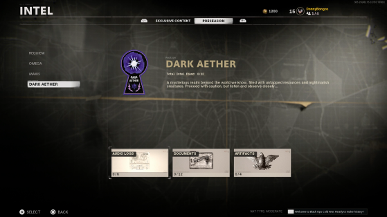 Black Ops Cold War Zombies: Dark Aether Intel, Where To Find It