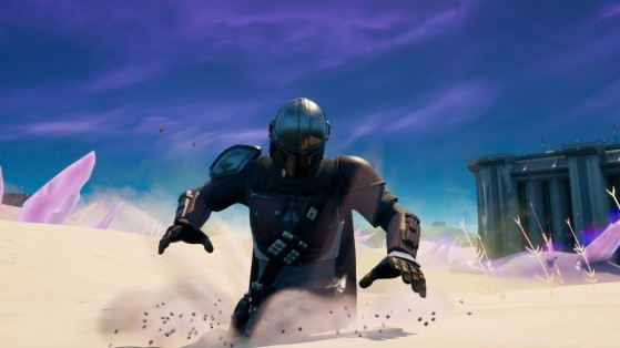 Quicksand is a new feature in Fortnite Chapter 2 Season 5