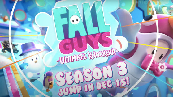 Fall Guys season 3 starts December 15: Walking in a Winter Wonderland