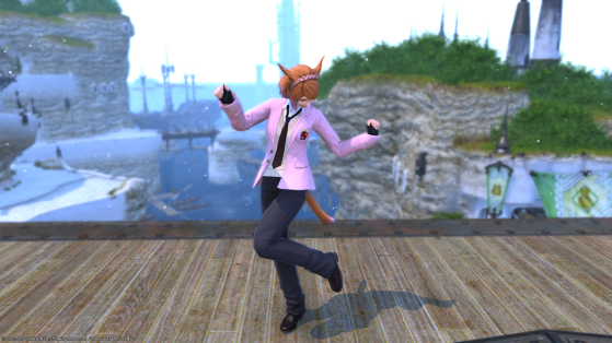 FFXIV: New Collegiate outfit and Winter Sale