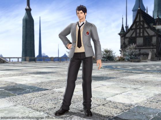 FFXIV School Uniform Slacks - Final Fantasy XIV