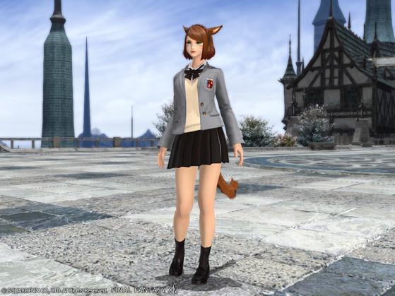 FFXIV School Uniform Skirt - Final Fantasy XIV