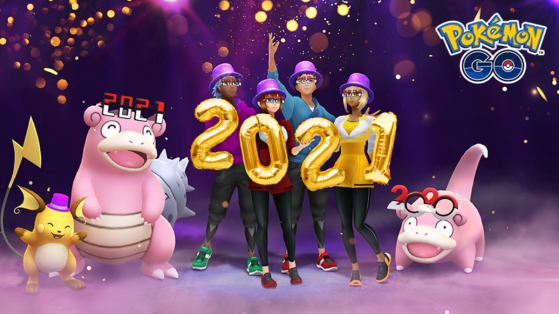 Celebrate New Year 2021 with a new event in Pokémon GO!