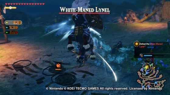 White-Maned Lynel - Hyrule Warriors: Age of Calamity