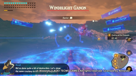 Piloting Vah Medoh - Hyrule Warriors: Age of Calamity