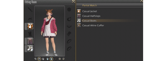 The Casual Attire can be sold on the Market Board - Final Fantasy XIV