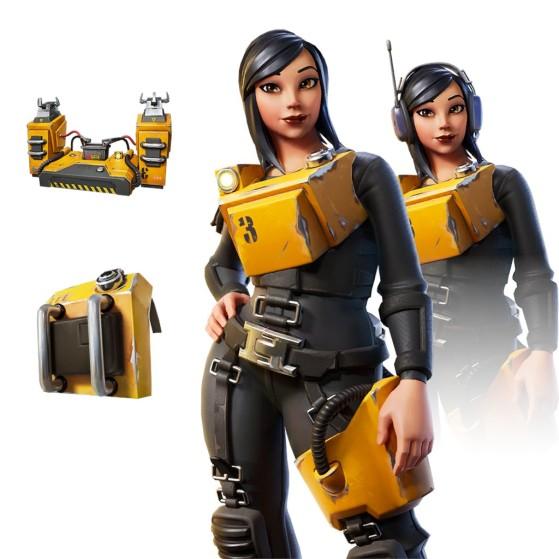 Machinist Pack - Fortnite