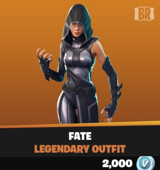 Prepare to meet your fate in today's Fortnite Item Shop